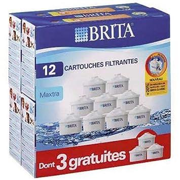 Brita Genuine Maxtra Plus remplacement filtre eau Pichet Cartouche Recharges x 6