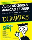 AutoCAD 2009 & AutoCAD LT 2009 All-in-One Desk Reference For Dummies (For Dummies (Computer/Tech)) - 0470243783