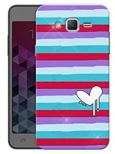 """Humor Gang Cartoon Heart Lines Printed Designer Mobile Back Cover For """"Samsung Galaxy j3"""" (3D, Matte, Premium Quality Snap On Case)"""
