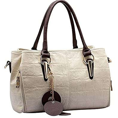 Keral Ladies Handbags Women Shoulder Messenger Bag_Beige ...