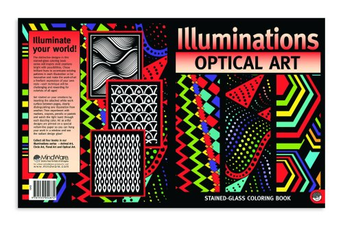 Optical Art Illuminations Coloring Book - 1