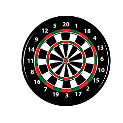 Professional Dart Game Board With Darts Needle