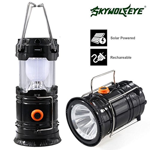 Rechargeable Solar Panel Camping Lantern LED Outdoor Tent Hanging Lights Lamp (Fuel X 30 Atomic compare prices)