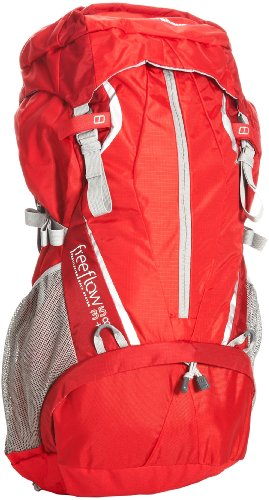 Berghaus Freeflow 35+8 Women's Backpack - Red/Red, 35+8 Lt