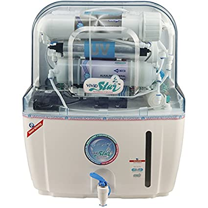 Vivid Star Swift 10 Litres RO+UV+UF+TDES+pH Balance Water Purifier