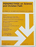 Perspectives on Science and Christian Faith, Volume 51 Number 3, September 1999