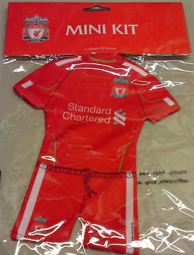 OFFICIAL LIVERPOOL FC. MINI HANGING KIT 2010/11 NEW RELEASE