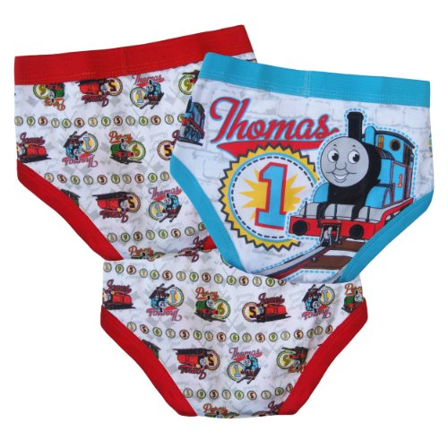 Thomas the Train Toddler Boys 3 Pair Brief Pack 4T