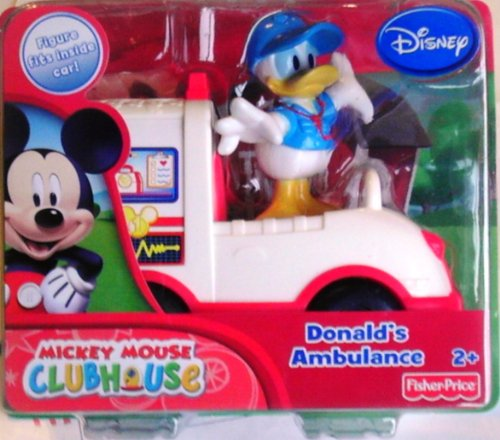 Fisher Price Disney Mickey Mouse Clubhouse Save the Day Donald's Ambulance