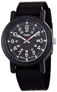 [タイメックス]TIMEX 腕時計 オーバーサイズキャンパー ブラック T2N364  メンズ [正規輸入品]