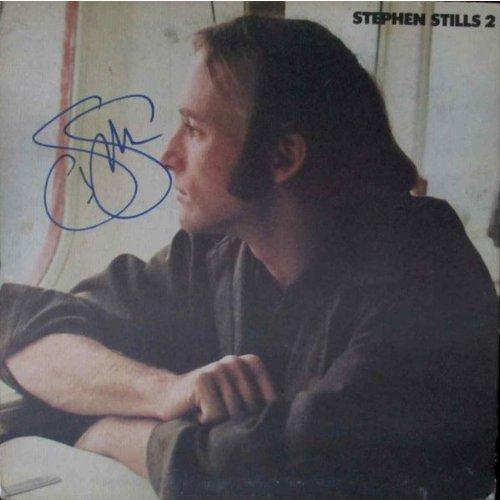Stephen Stills '2' Signed Record Album Certified Authentic Ga