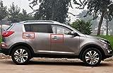 Rupse Door Handle Chrome Covers for 2010 2011 Kia Sportage 4 Doors