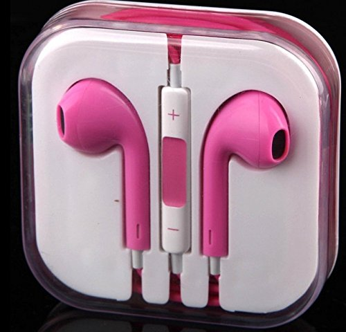 Thinkcase 3.5Mm Earphone Earbud Headphones With Remote & Mic For Iphone 4S 5 5C Ipod Others Device 06#