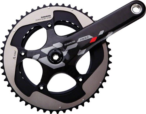 2012 SRAM Red Exogram BB30 167.5mm 34-50 Crankset; Bottom Bracket Not Included sram xx1 x9 xo gxp bb30