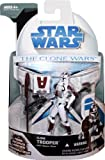 Star Wars Clone Wars Wave 4 Clone Trooper with Space Gear Figure