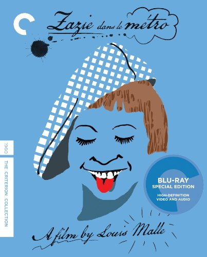 Cover art for  Zazie dans le metro (The Criterion Collection) [Blu-ray]