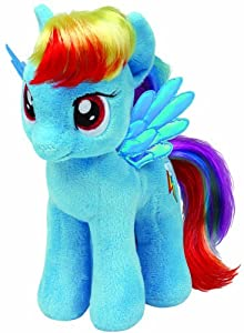 "Ty Beanie Babies My Little Pony - Rainbow Dash 8"" by Ty Beanie Babies"