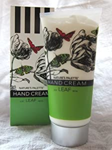 Nature's Palatte Hand Cream LEAF 6 oz.