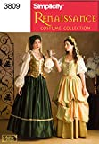 Simplicity Sewing Pattern 3809 Misses Costumes, D (4-6-8)