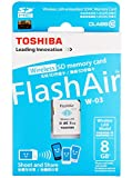 東芝 SDHC 8GB FlashAir class10 W-03 英語パッケージ SD-R008GR7AL03A