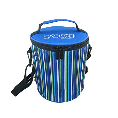 Best Price Cylindrical Picnic Lunch Bag Tote Reusable Bags