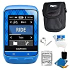 Garmin Edge 510 Cycling Team Garmin Monitor and Sensors GPS with Case and Warranty Kit - Includes GPS, Carrying Case, Three Year Additional Warranty Certificate, White Audio Earbuds with Microphone, LCD Screen Protectors, and 3pc. Lens Cleaning Kit