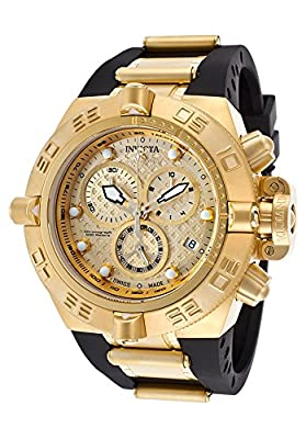 Invicta Men's 16144 Subaqua Analog Display Swiss Quartz Black Watch