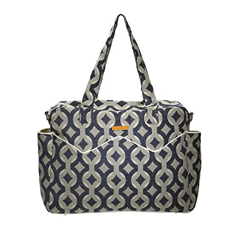 Foxy Vida Satchel Diaper Bag, Midnight Talvin