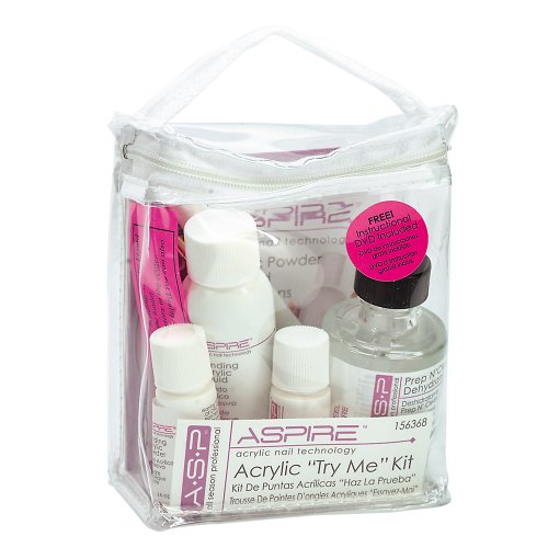 ASP Try Me Acrylic Nail Kit | Nail Tools for Beauty Nail