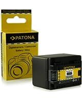 Batterie BP-727 BP727 pour Canon LEGRIA HF M52 | HF M56 | HF M506 | HF R36 | HF R37 | HF R38 | HF R46 | HF R47 | HF R48 | HF R306 | HF R406 - Canon VIXIA HF M50 | HF M52 | HF M500 | HF R30 | HF R32 | HF R40 | HF R42 | HF R300 | HF R400 et bien plus encore... [ Li-ion; 2400mAh; 3.6V ]