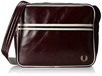 Fred Perry Classic Shoulder Bag Red 10