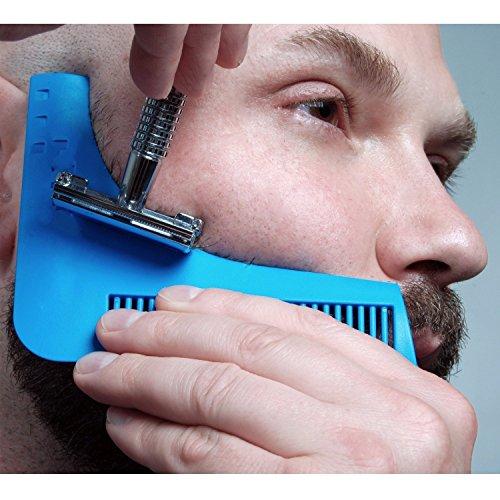ducomir-sharper-image-pettine-barba-sagoma-modellante-per-barba-adatto-per-tenere-in-ordine-la-barba
