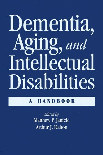 Dementia And Aging Adults With Intellectual Disabilities: A Handbook front-968069