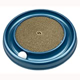 Bergan Turbo Scratcher Cat Toy, Catnip and Ball (Colors Vary)