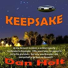 Keepsake Audiobook by Dan Holt Narrated by Mark Shumka