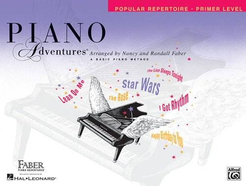 Primer Level - Popular Repertoire Book: Piano Adventures