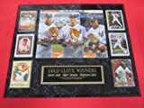 Derek Jeter Mark Teixeira Robinson Cano Gold Glove 6 Card Collector Plaque w/8x10 RARE Photo