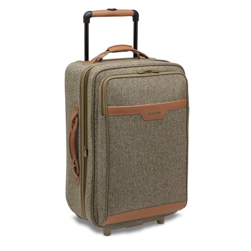 Hartmann Luggage Tweed 22 Inch Mobile Traveler, Walnut Tweed, One Size top deals