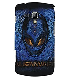 PrintDhaba Alien D-5405 Back Case Cover for SAMSUNG GALAXY S DUOS 2 S7582 (Multi-Coloured)