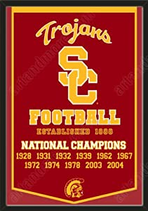 Dynasty Banner Of Southern California Trojans-Framed Awesome & Beautiful-Must For... by Art and More, Davenport, IA
