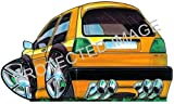 Koolart Car Tax Disc Holder 0080 VW Golf MK2