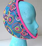 Face Caddy, Hot and Cold Therapy Wraps (Swirls)