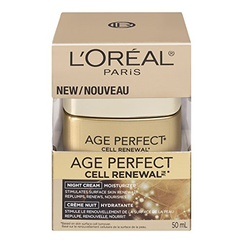 L'Oreal Paris discount duty free L'Oreal Paris Age Perfect Cell Renewal Night Cream, 1.7 Ounce