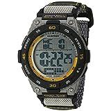 Armitron Sport Men's Quartz Resin Fitness Watch, Color:Grey (Model: 40/8330GRY)