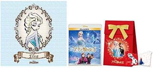【Amazon.co.jp限定】アナと雪の女王 MovieNEX [ブルーレイ+DVD+デジタルコピー(クラウド対応)+MovieNEXワールド] (アートキャンバス・「アナと雪の女王」オリジナル ギフトバッグ付) [Blu-ray + DVD]