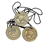 Pirate Coin Necklaces 48 Ct - Party Favors - Boys / Girls