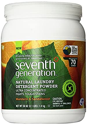 Seventh Generation  Natural Laundry Detergent Powder