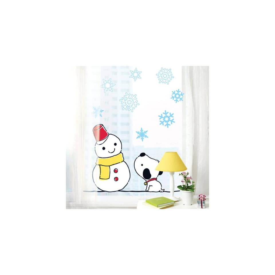 Snoopy removable Vinyl Mural Art Wall Sticker Decal