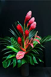 Large Pink and Red Hawaiian Tropical Flower Arrangement