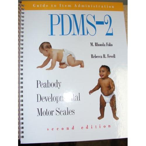 Peabody Developmental Motor Scales Guide To Item
